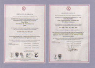 ISO9001 and ISO14001 Certificatuion