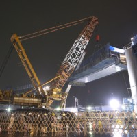 7800 Working on the expressway construction (Tokyo, Japan)