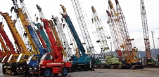 Cranes TENDER Stock List